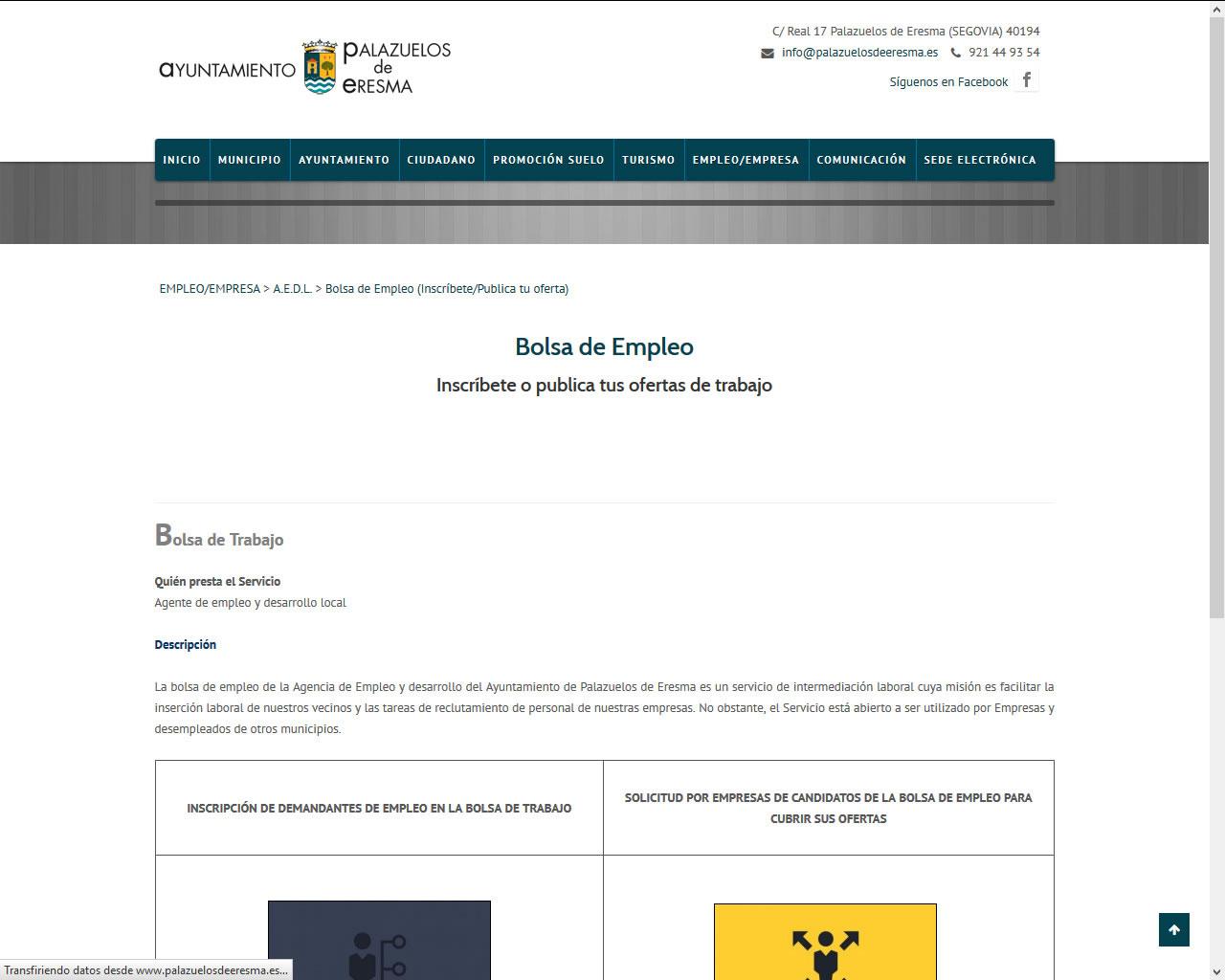Proyectos - Ayuntamiento de Palazuelos de Eresma