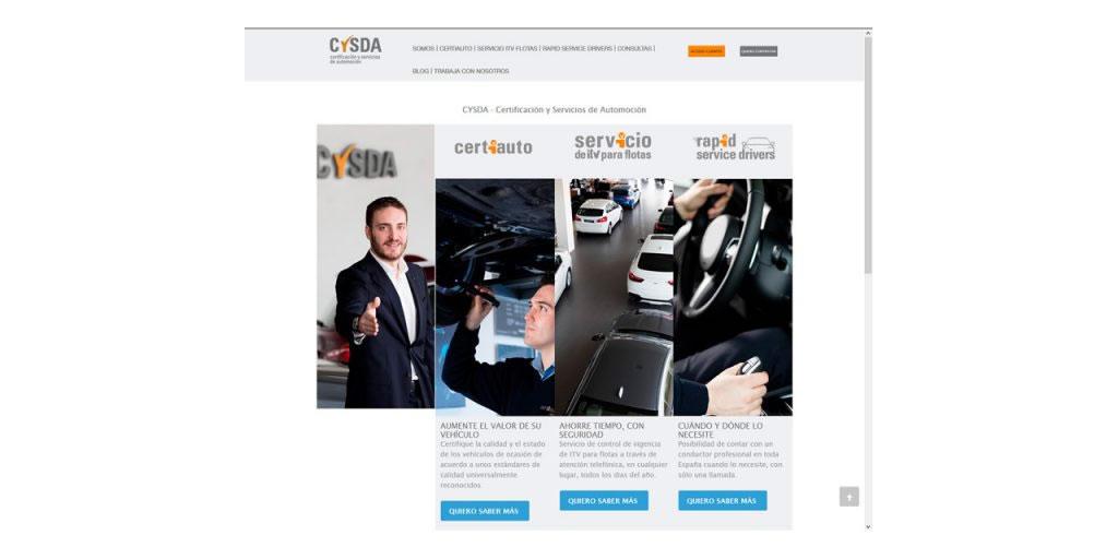 Proyectos - CYSDA - Certificados y Servicios de Automoción