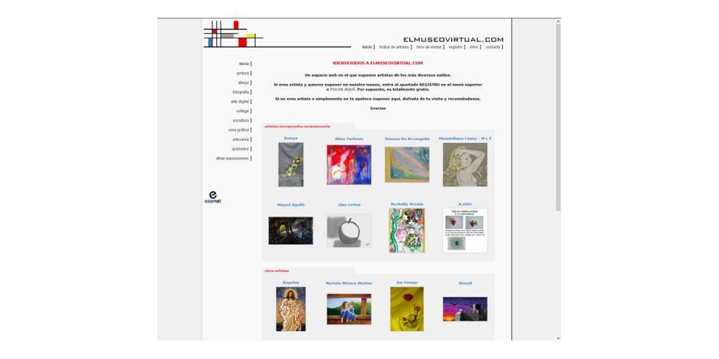Proyectos · El Museo Virtual · www.elmuseovirtual.com