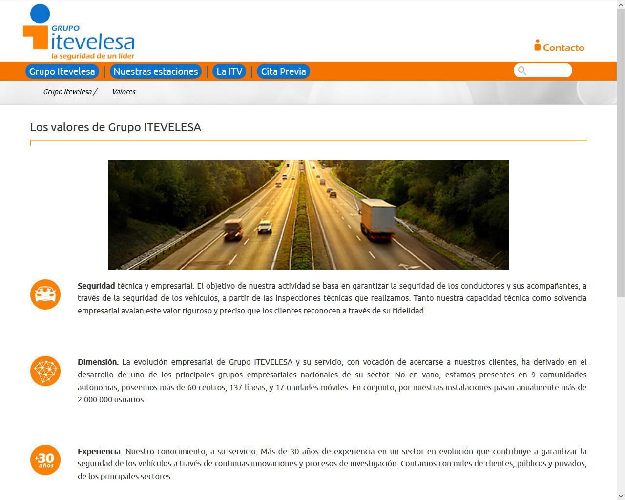 Proyectos - Grupo Itevelesa