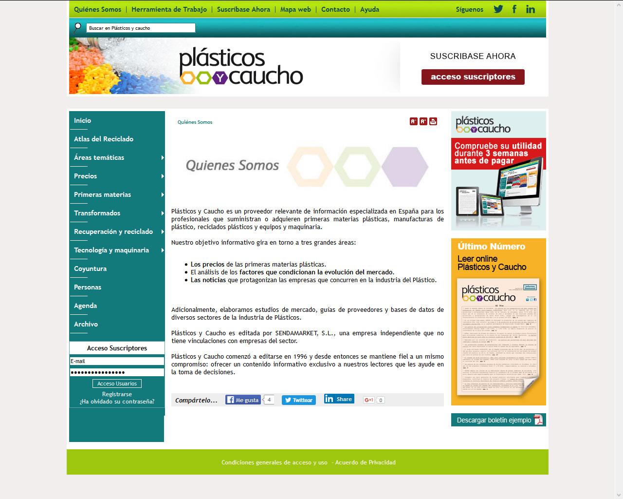 Proyectos - Plásticos y Caucho