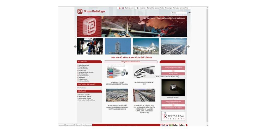 Proyectos - Grupo Redislogar