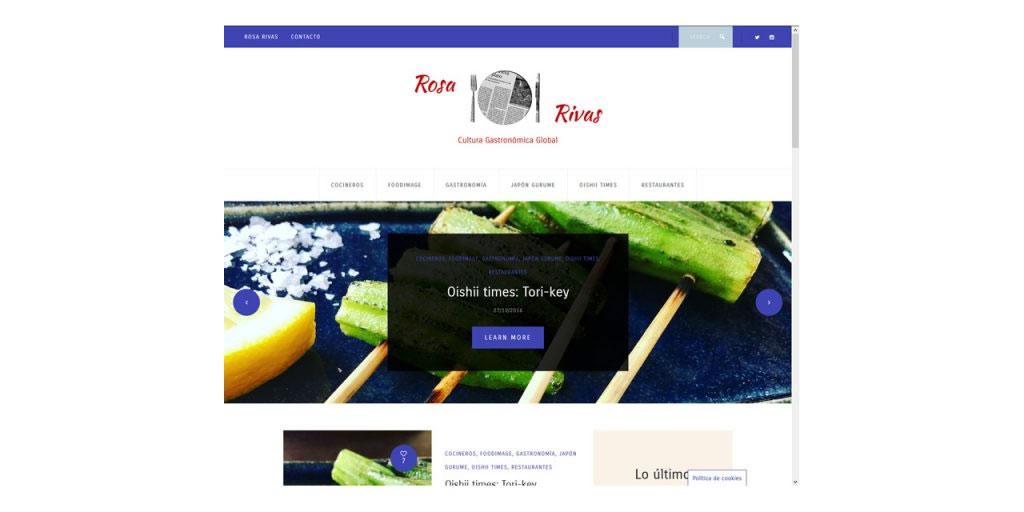 Proyectos - Rosa Rivas