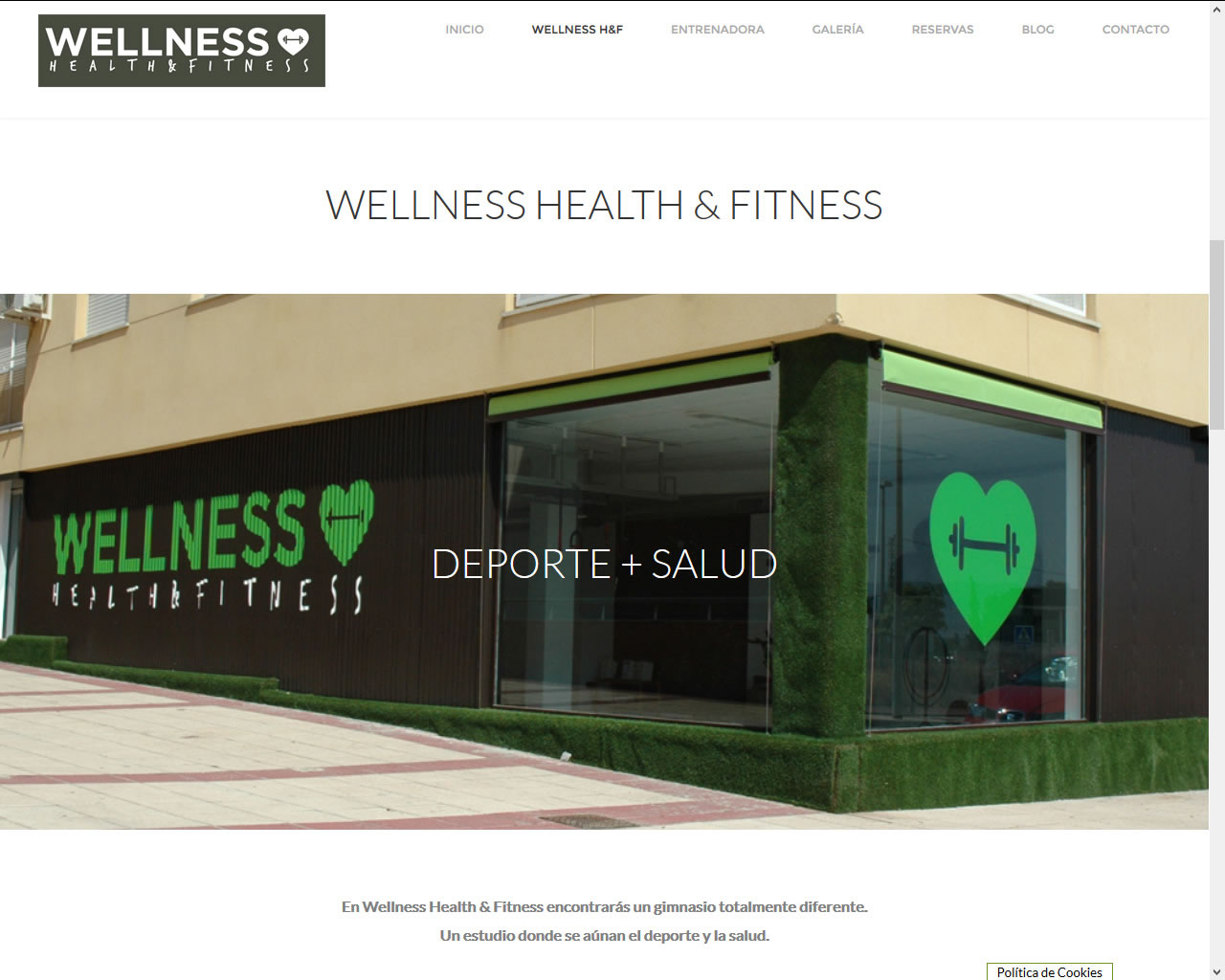 Proyectos - Wellnes, Health & Fitness