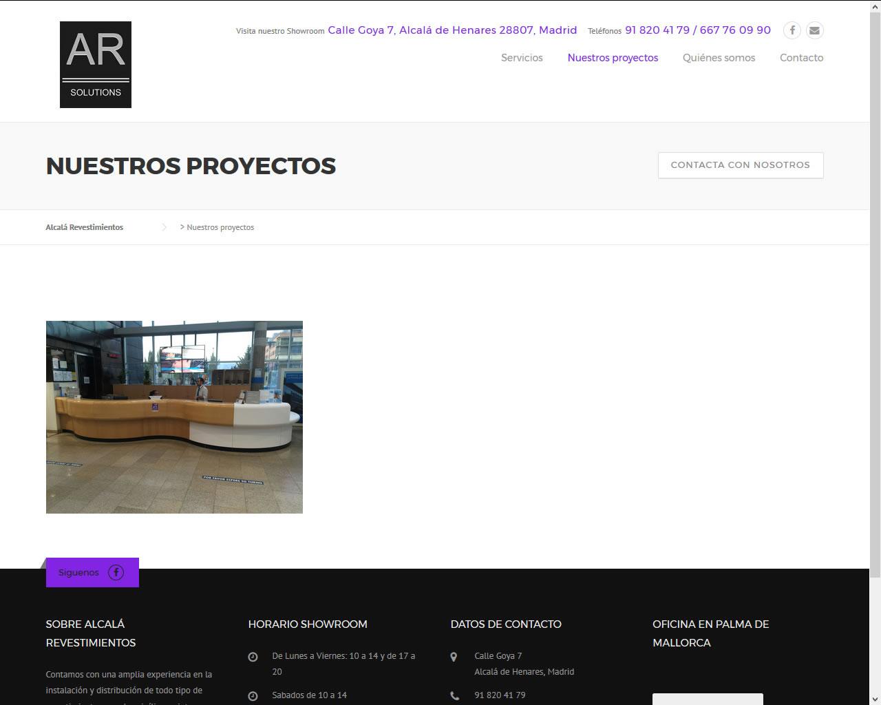 Proyectos - Alcalá Revestimientos