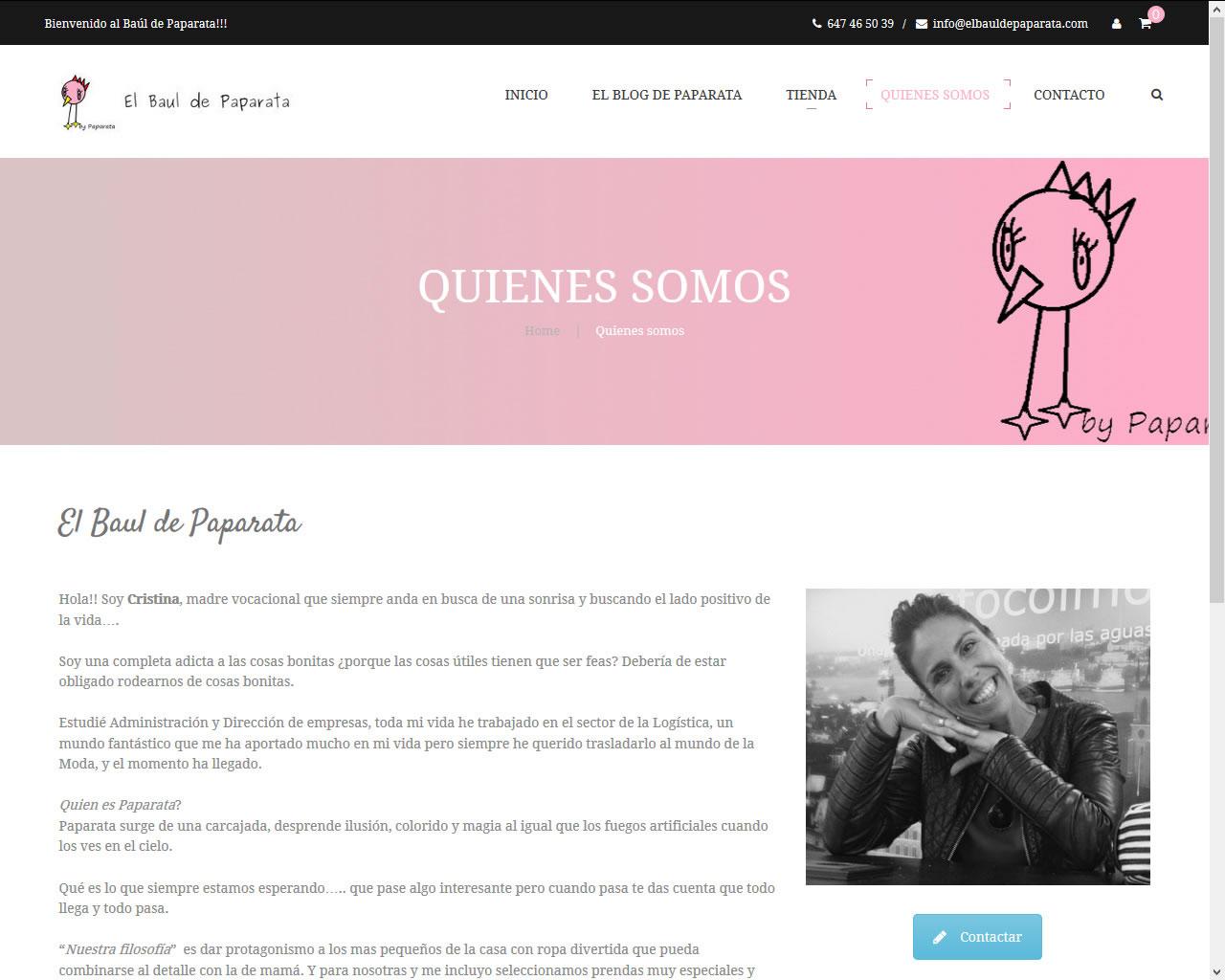Proyectos - El Baúl de Paparata