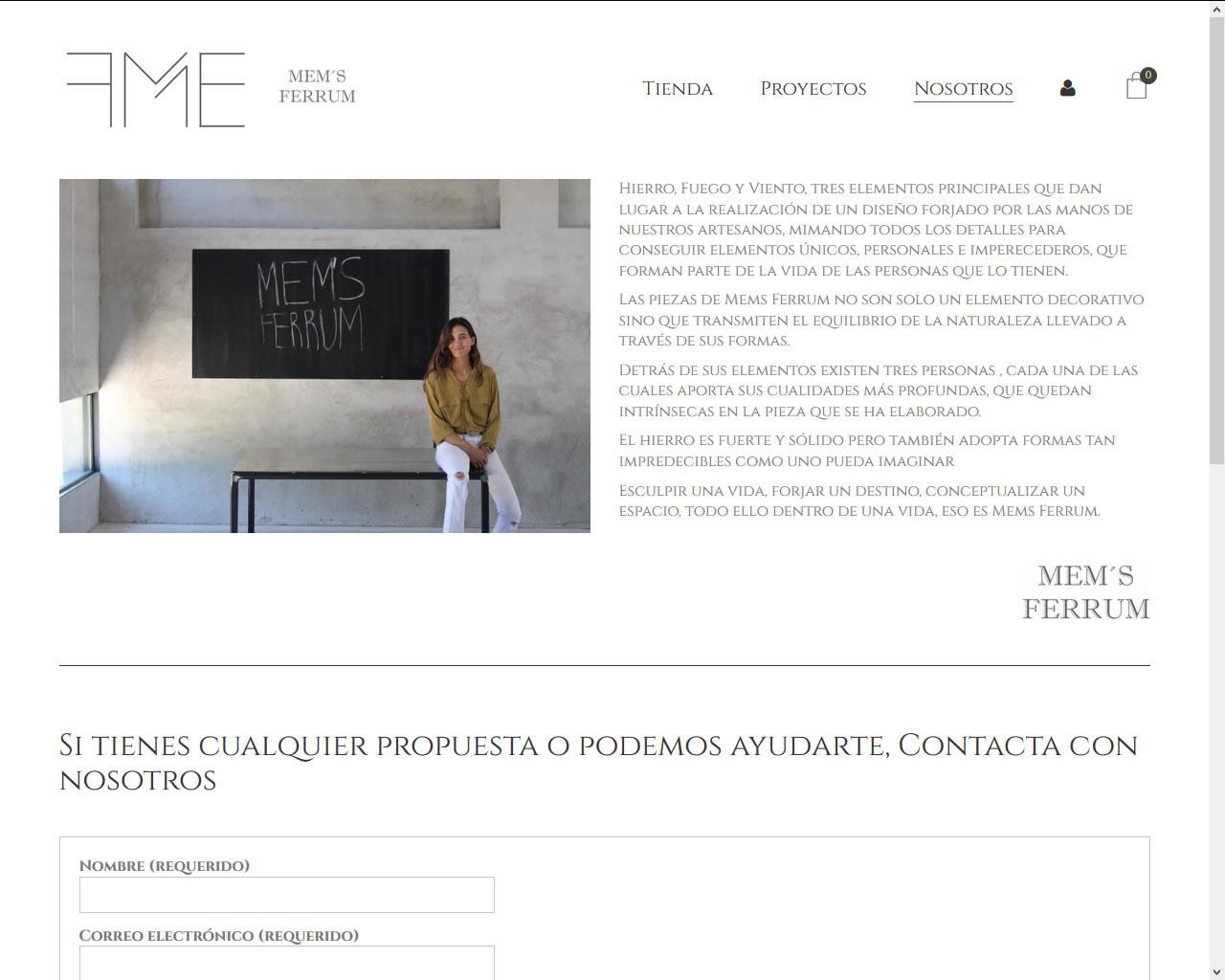 Proyectos - Mem's Ferrum