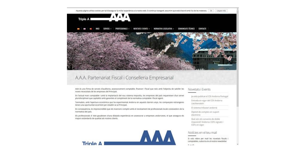 Proyectos - Triple A